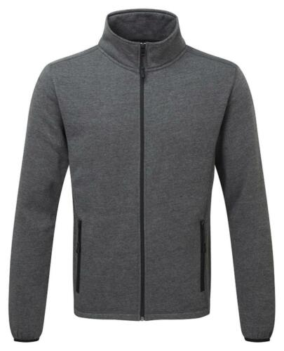FORT Melford grey lightweight full zip polycotton sweatshirt #130
