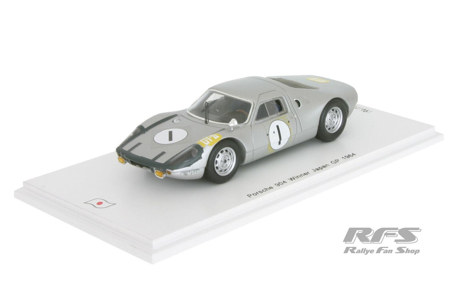PORSCHE 904-JAPAN GP 1964 - 1 43 SPARK sj027