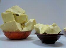 Pure Raw COCOA BUTTER Organic Unrefined Natural Pure Prime Pressed Hexane Free