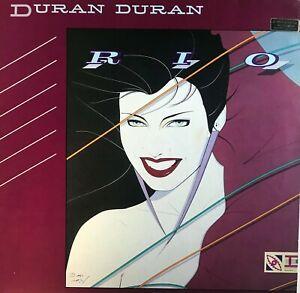 DURAN DURAN - Rio LP vinyl 33rpm