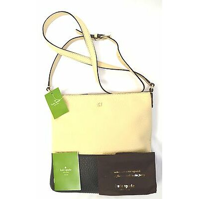 Nwt Kate Spade Cora Southport Avenue Genuine Leather File Shoulder Cross Body