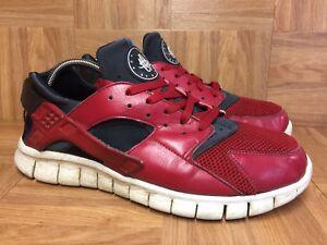 b4264692 La foto se está cargando Raro-Nike-Huarache-Free-Run-2012-Varsity-Rojo-