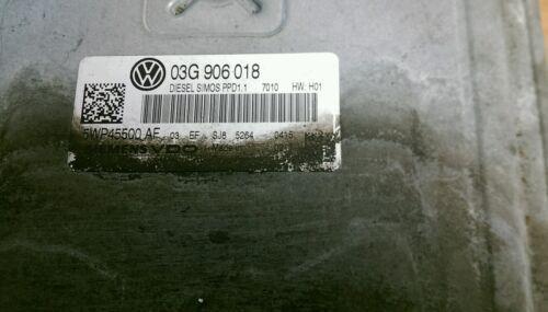 VW Passat B6 2.0 TDI ENGINE ECU 03G906018 OEM