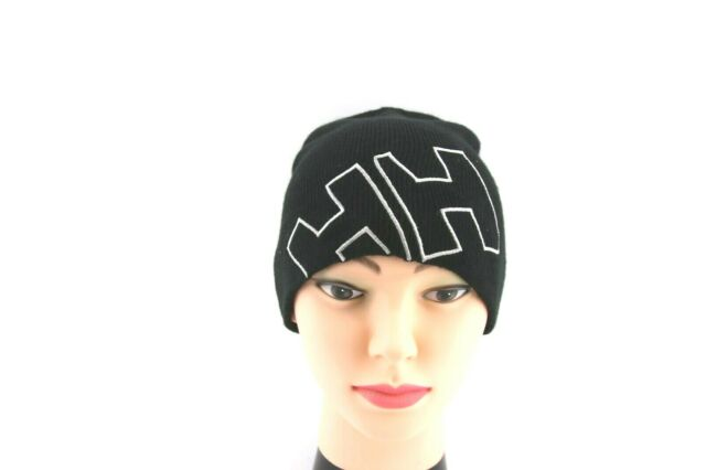 Helly-Hansen Boys Outline Knitted Hh Iconic Logo Brand Beanie Outline Knitted Hh Iconic Logo Brand Beanie