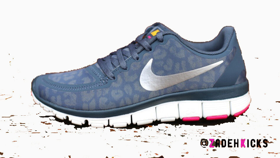 Nike femmes Free 5.0 V4 Dark Armory Navy bleu 511281-404 12
