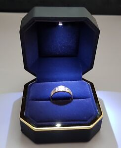 Ring Box with LED Light .Wedding Ring Box or Engagement Ring Box with Light