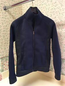 Tomas Maier Neoprene Spring Jacket Sweater Zip Up $595 SZ Small
