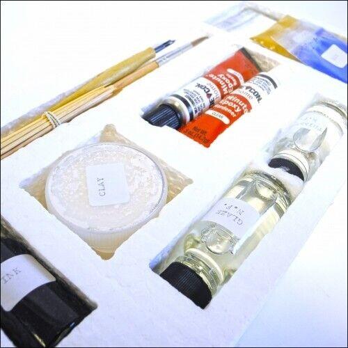 Curator Enamel and Porcelain Clock Dial Repair Kit dial Restoration HE15
