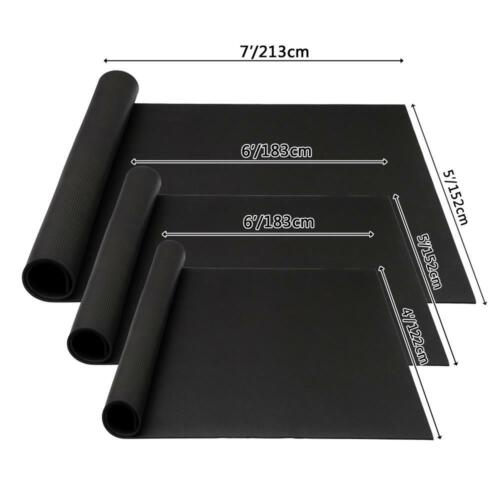 6/'//7/' Extra Thick Yoga Floor Mat PVC Fitness Non-slip Gym Equipment Playground