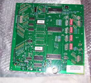 Brand-New-Dash-35-MPU-CPU-PCB-Bally-pinball-All-chips-socketed