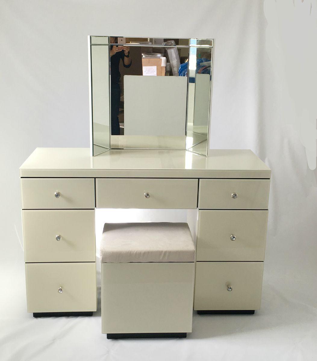 venetian glass dressing table set - 28 images - glass dressing table ...