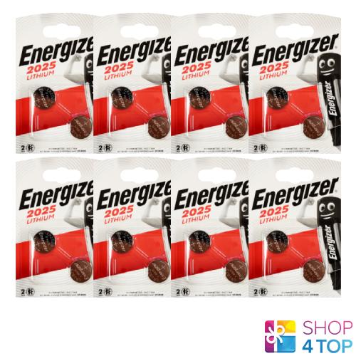 16 energizer cr2025 lithium batteries 3v bulb pil button dl2025 exp 2024 new