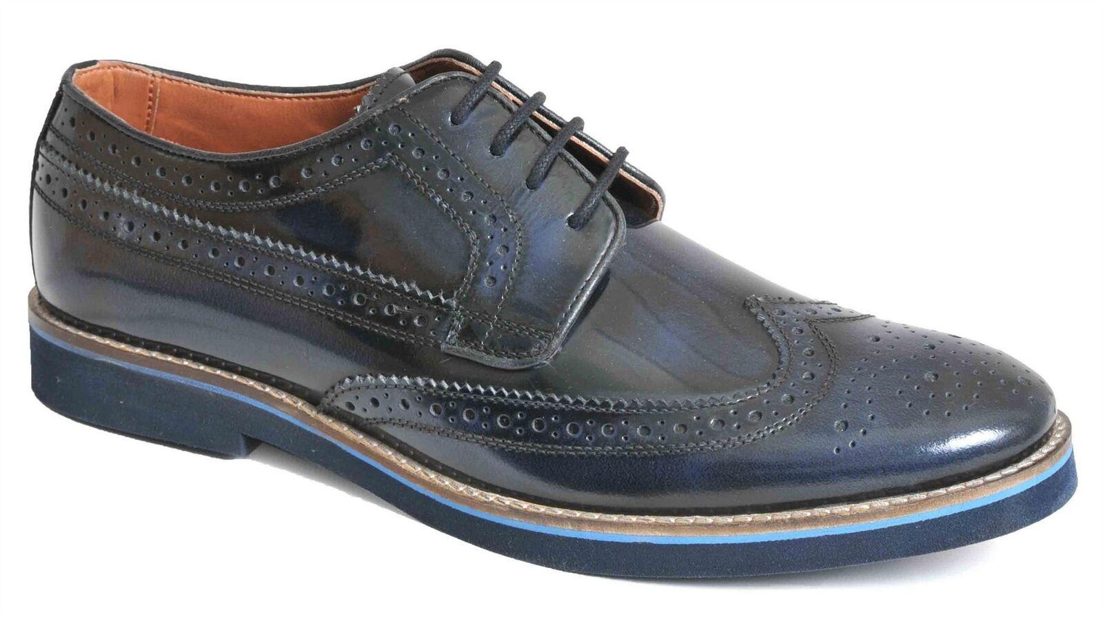 Homme Formel Chaussures En Cuir Léger à Lacets Mariage intelligent   Chaussures Taille
