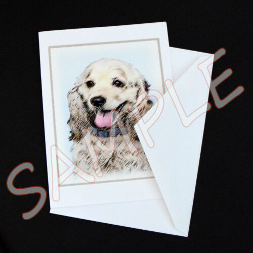 6 Australian Shepherd Blank Art Note Greeting Cards