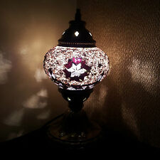 Turkish Moroccan Colourful Lamp Light Tiffany Style Desk Table - UK TOP SELLER