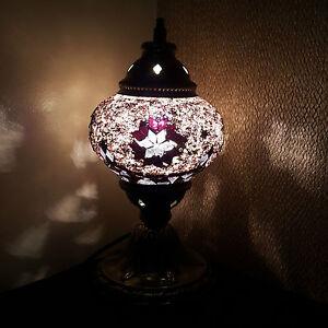 Turkish-Marocain-colore-Lampe-Lumiere-Style-Tiffany-Bureau-GB-MEILLEUR-VENDEUR