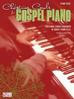 Christmas Carols For Gospel Piano Sheet Music Piano Solo Songbook 002501687