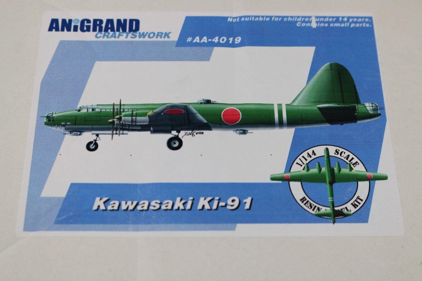 Zf1232 Anigrand Craftswork 1 144 Modelll Flugzeug Aa-4019 Kawasaki Ki-91