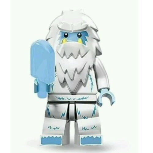 "COLLECTIBLE MINIFIGURE Lego Series 11 /""YETI/"" w//Popsicle Genuine Lego NEW 71002"
