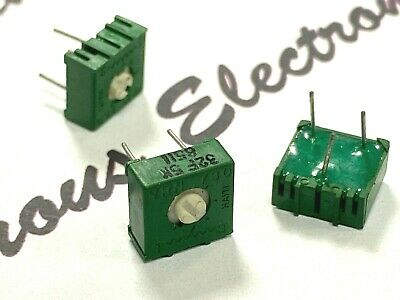 4PCS PIHER 50K 723 Trimmer Variable Resistor Potentiometer