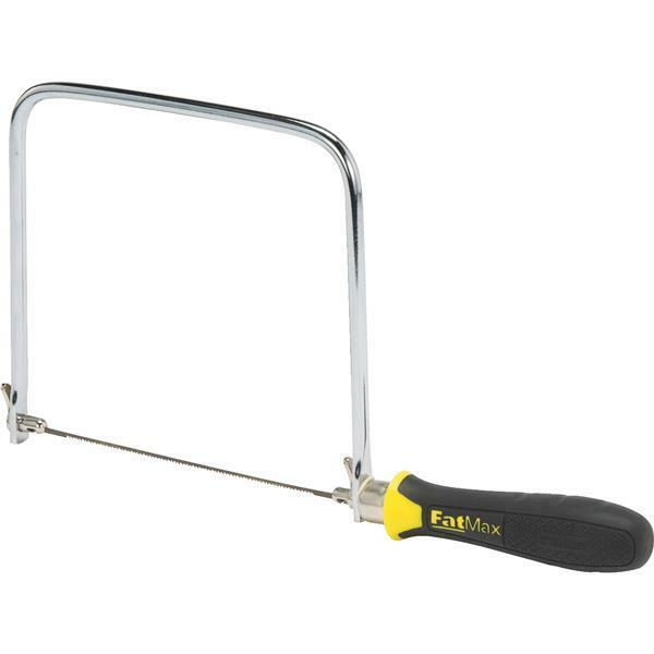 (6)-Stanley 6-1 2  Long Blade 6-3 4  Frame Depth Wood Handle Coping Saw 15-106A