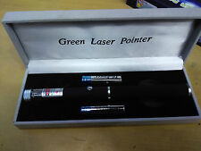 Green Laser Pointer Pen with Disco Light High Beam