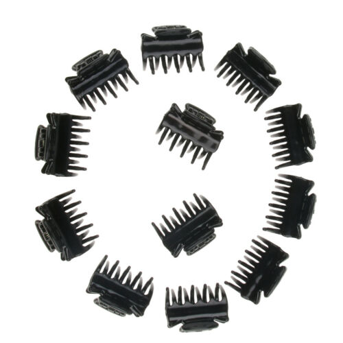 12x Resin Mini Hair Clips Claws Small Hair Grips Accessories for Women Girls