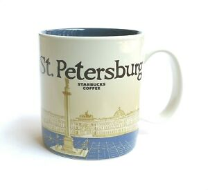 Cup Mug StPetersburg Icon City Details Starbucks 16oz Collectors About Global Series 2016 LcR45Ajq3