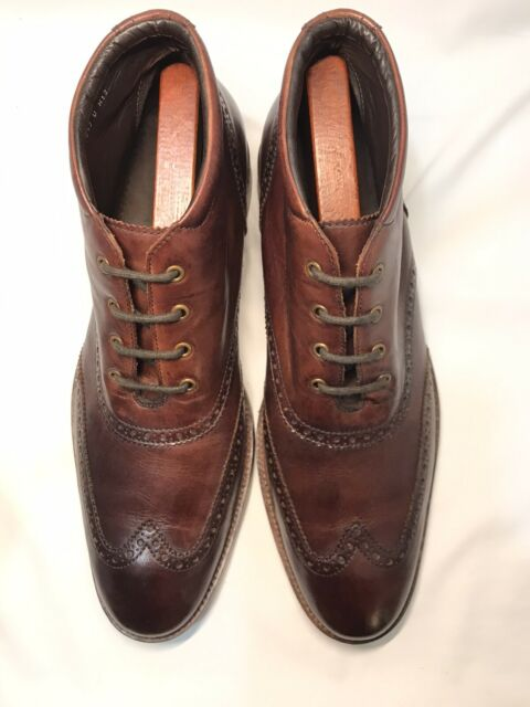 Cole Haan Liam 7 D Burgundy Leather
