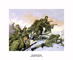 Puerto Rico/'s 65th Infantry Regiment Art on Canvas The Borinqueneers