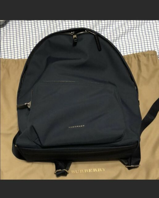 a310407b7e59 Burberry London Nylon Collection Abbeydale Simple Backpack Dark Navy ...