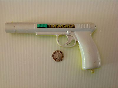 Realistico Pistola In Plastica Sparapalline Di Carta-funzionante-anni 60 -vintage