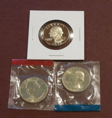1978 P UNCIRCULATED /& PROOF * 1226 D /& S WASHINGTON Quarters
