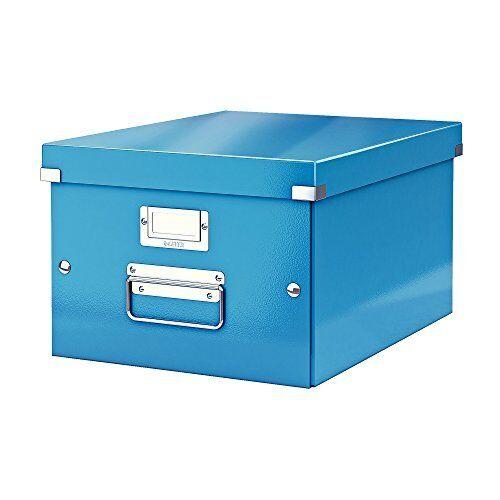 Blue Medium Click and Store Range 60440036 Leitz A4 Storage Box