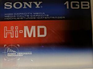 Sony-Hi-MD-1GB-minidisc-HMD1G-originalverpackt-factory-sealed