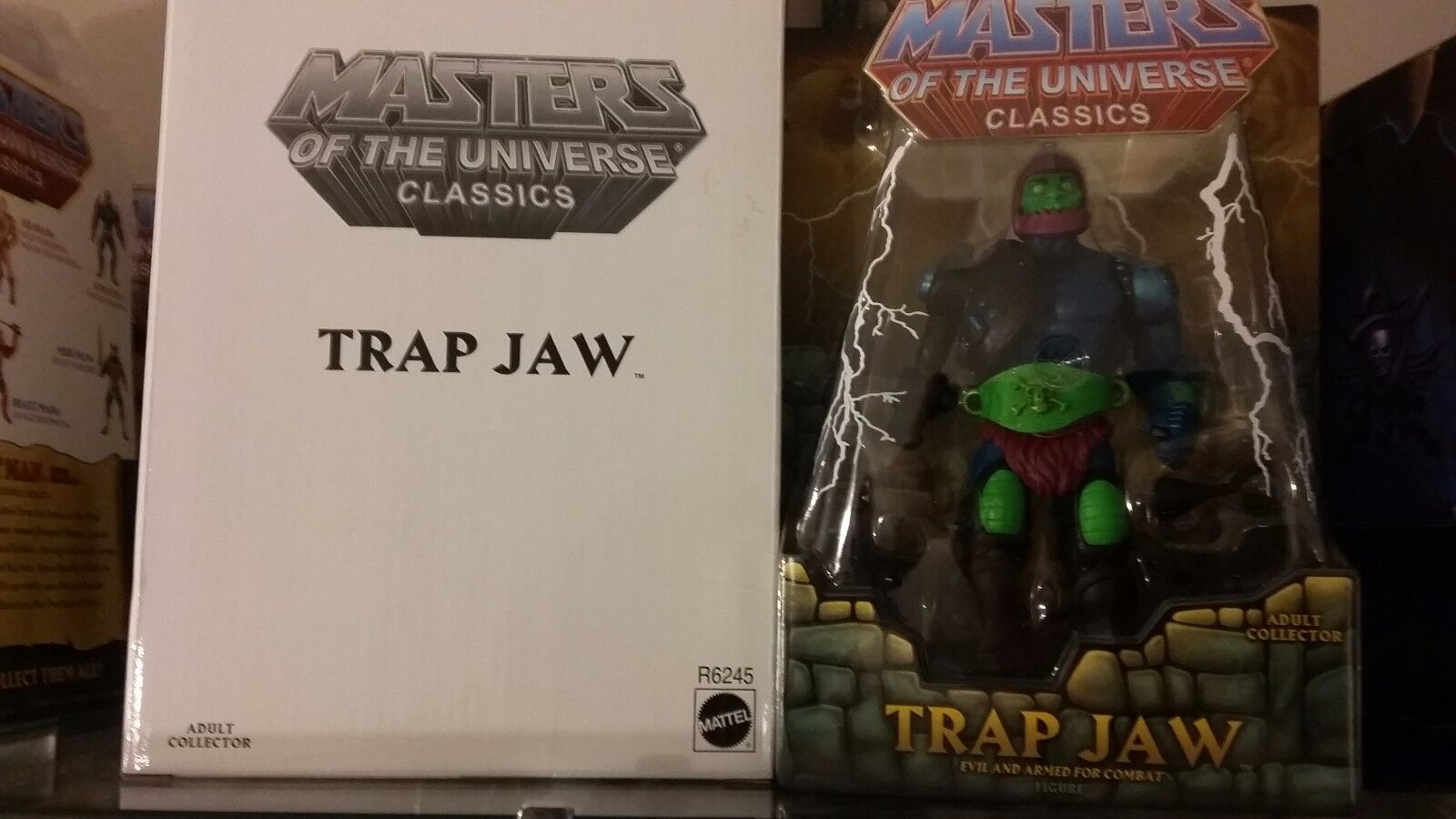 MOTU Classics Trap Jaw Original 1st Print Figure NEW