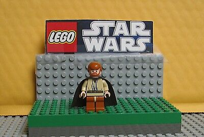 "STAR WARS LEGO MINIFIGURE  MINI FIG  /"" OBI WAN KENOBI--7255--WITH HEAD SET  /"""