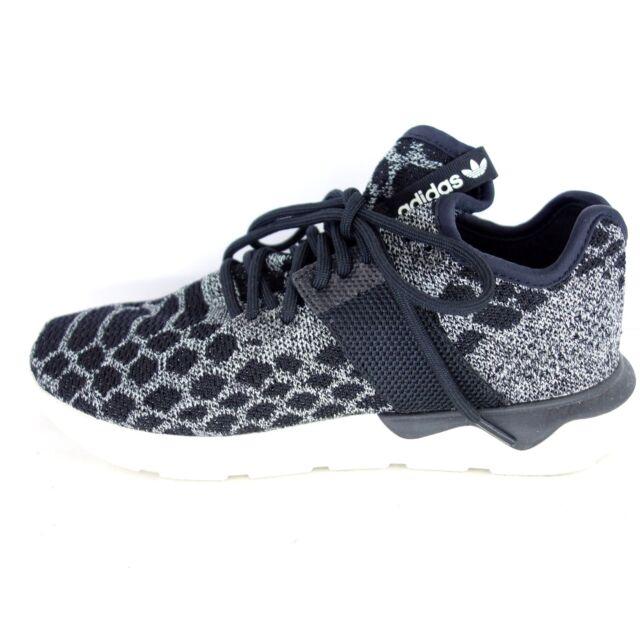 d0c4da1e07d1 Adidas Women s Low Top Trainers Tubula Runner Prim Textile Black Shoes Np  99 New