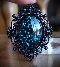 Deep Space Galaxy Black Necklace Lolita/Pastel Goth/Alt/Gothic/Rockabilly/Gothic