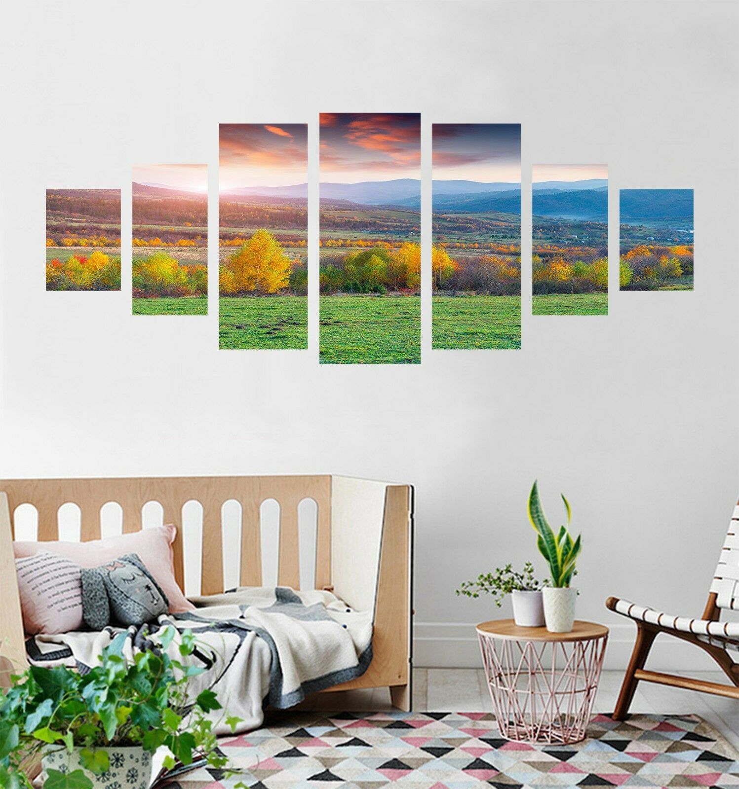3D Grassland View 73 Unframed Print Wall Paper Decal Wall Deco Indoor AJ Jenny