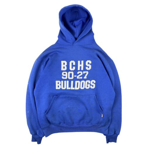 Russell Athletic 80s Vintage Blue Bulldogs Pullove