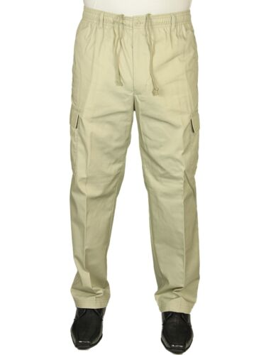 BNWT CARABOU RUGBY CARGO COMBAT TROUSERS  PANTS ELASTICATED SIZES 32 TO 48 SALE*