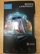 LifeProof FRE Samsung Galaxy S6 Waterproof Case - Retail Packaging - Blue