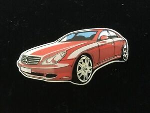 Mercedes Benz Pin Vision CLS Coupe rot - nur intern - sehr selten