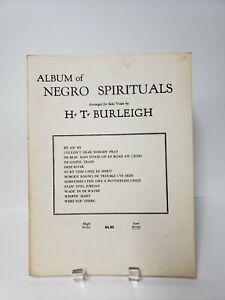 Album-de-Negro-Spirituals-12-morceaux-piano-chanteur-Partition-Sheet-Music-Score