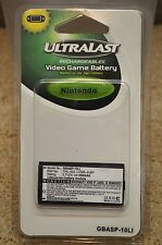 Ultralast Lithium Ion Nintendo Video Game Rechargeable Battery GBASP-10LI NEW