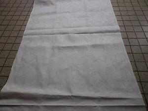 Adroit 12 Serviettes Table En Damasse De Lin A Faire Ourlets / Towels