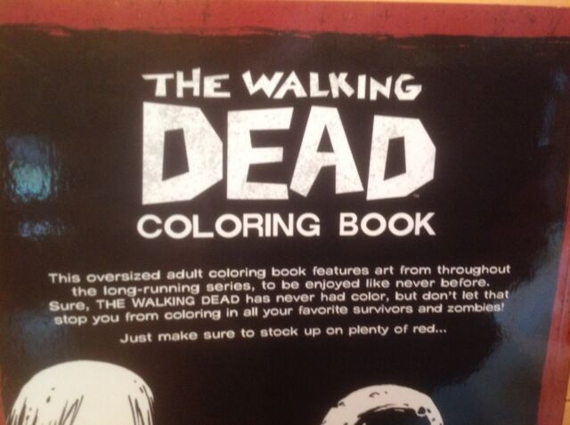 The Walking Dead Coloring Book Paperback May 10 2016 Robert