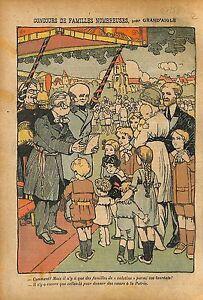 Caricature-Antiparlementaire-Depute-Franc-Macon-Famile-WWI-1914-ILLUSTRATION