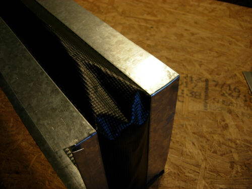 "DURO DYNE Flexible canvas duct connector 25 x 10/"" HVAC ."